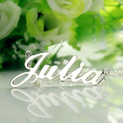 Collier prénom personnalisé style classique