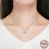 Charm pour maman cœur rose - Argent S925