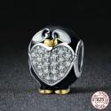 Charm pingouin - Argent S925
