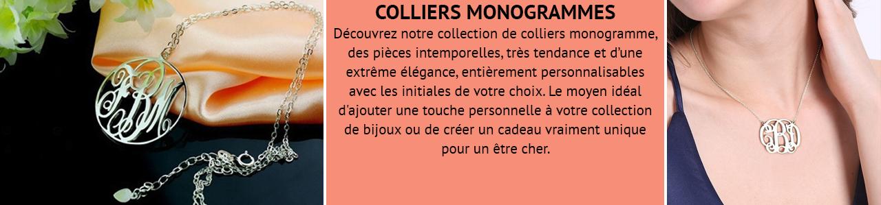 Collier Monogramme