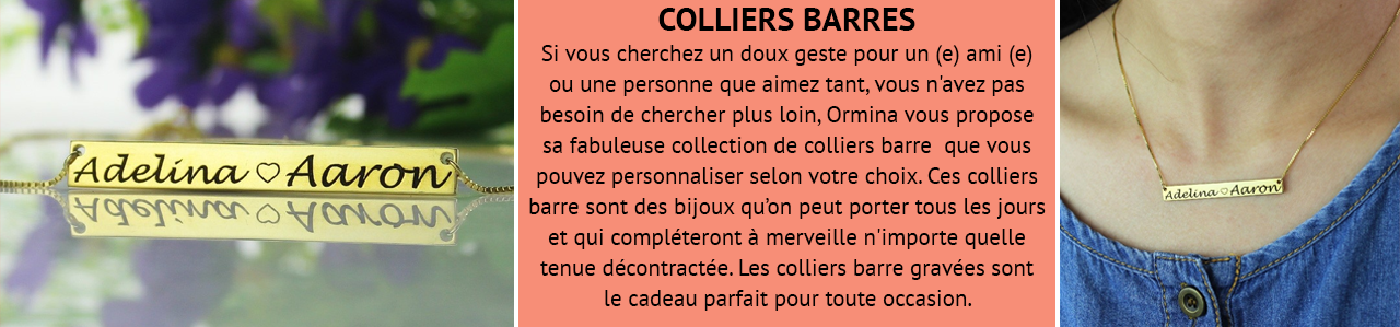 Collier Barre
