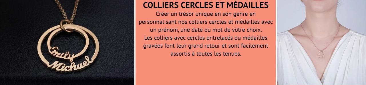 Collier Cercle & Médailles
