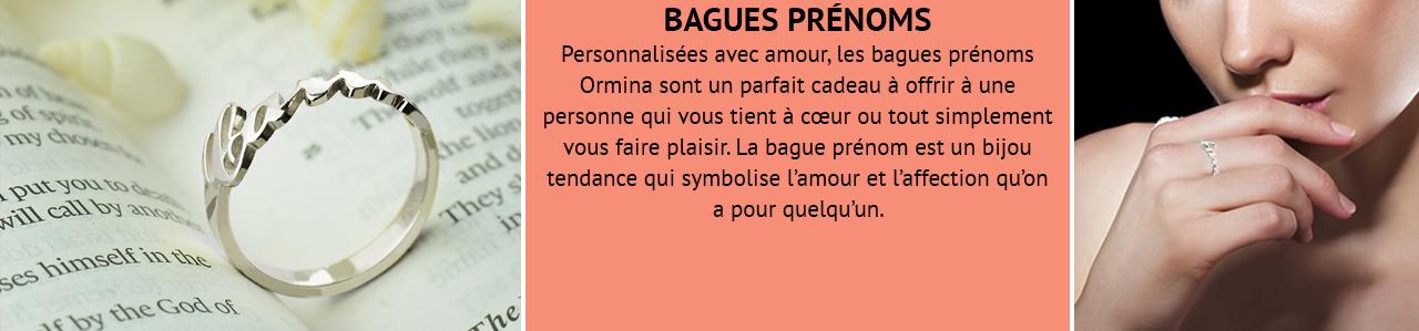 Bague Prénom