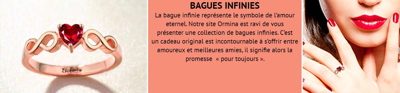 Bague Infini