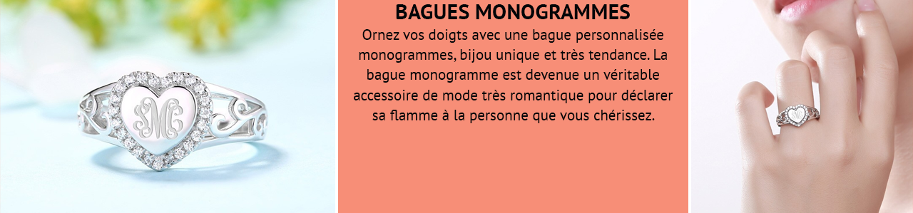Bague Monogramme